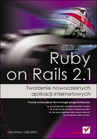 Okładka książki/ebooka Ruby on Rails 2.1. Tworzenie nowoczesnych aplikacji internetowych