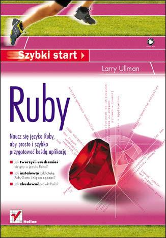 Okładka książki/ebooka Ruby. Szybki start