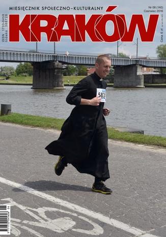 Okładka książki Miesięcznik Kraków czerwiec 2016
