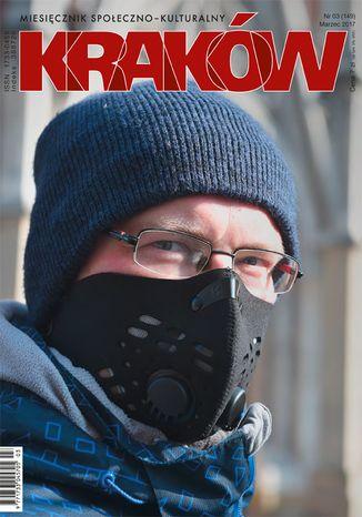Okładka książki Miesięcznik Kraków, marzec 2017
