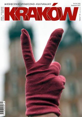 Okładka książki Miesięcznik Kraków, kwiecień 2017
