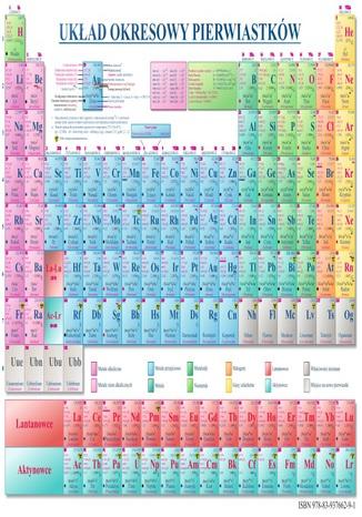 Okładka książki Układ okresowy pierwiastków