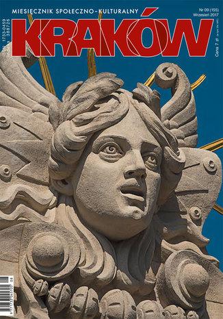 Okładka książki Miesięcznik Kraków, wrzesień 2017