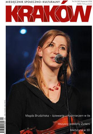 Okładka książki Miesięcznik Kraków, kwiecień 2018