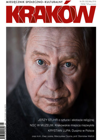 Okładka książki Miesięcznik Kraków, maj 2018
