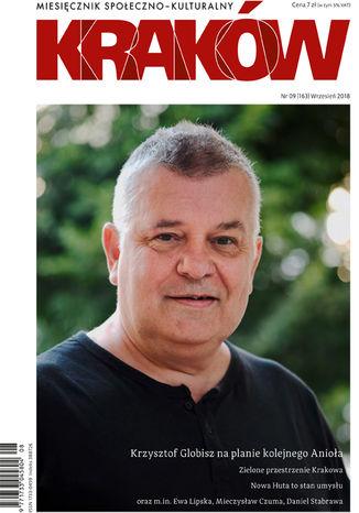 Okładka książki Miesięcznik Kraków, wrzesień 2018