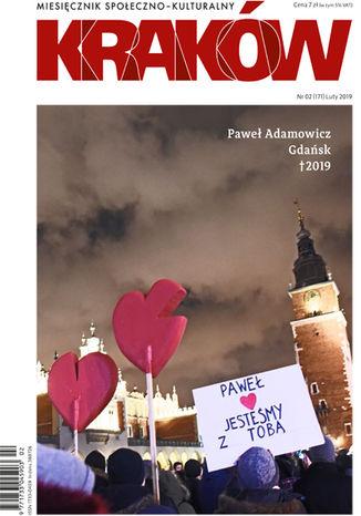 Okładka książki/ebooka Miesięcznik Kraków, luty 2019