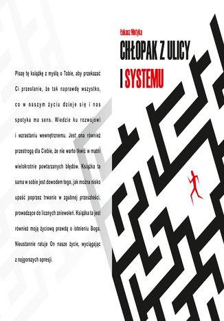 Okładka książki Chłopak z Ulicy i Systemu