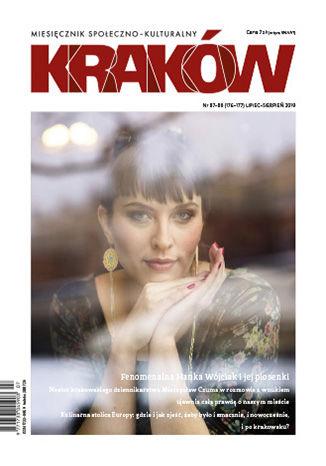 Okładka książki/ebooka Miesięcznik Kraków, lipiec 2019