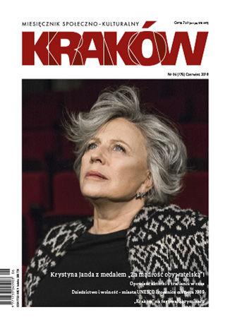 Okładka książki Miesięcznik Kraków, czerwiec 2019