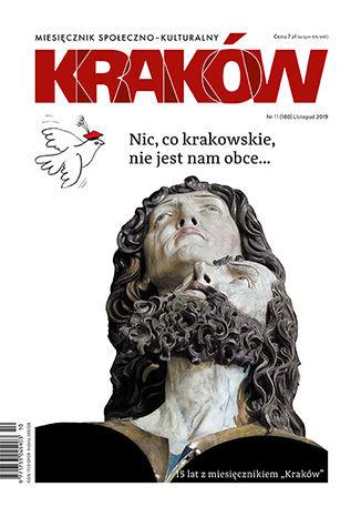 Okładka książki Miesięcznik Kraków, listopad 2019
