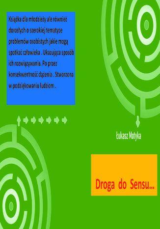 Okładka książki/ebooka Droga do Sensu