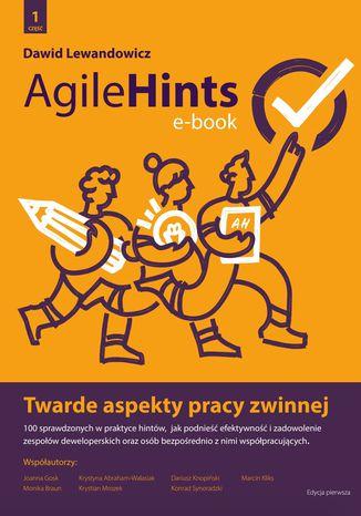 Okładka książki/ebooka AgileHints - twarde aspekty pracy zwinnej