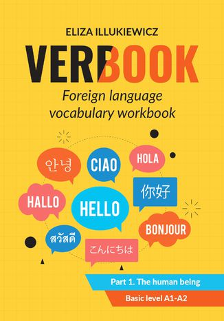 Okładka książki Verbook. Foreign language vocabulary workbook