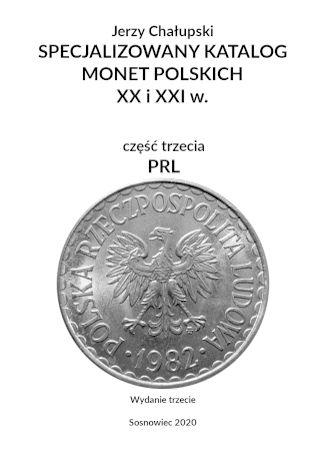 Okładka książki SPECJALIZOWANY KATALOG MONET POLSKICH - PRL