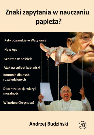 Okładka książki Znaki zapytania w nauczaniu papieża