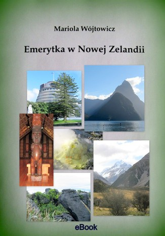 Okładka książki/ebooka Emerytka w Nowej Zelandii
