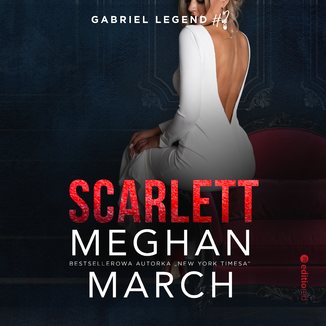 Okładka książki Scarlett. Gabriel Legend #2