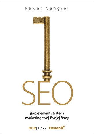 Okładka książki/ebooka SEO jako element strategii marketingowej Twojej firmy