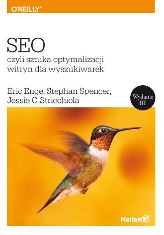 Okładka książki/ebooka SEO, czyli sztuka optymalizacji witryn dla wyszukiwarek