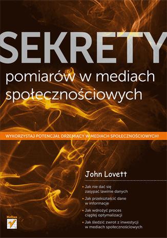 Okładka książki/ebooka Sekrety pomiarów w mediach społecznościowych