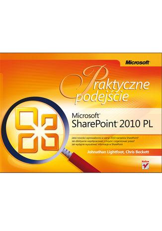 Okładka książki/ebooka Microsoft SharePoint 2010 PL. Praktyczne podejście
