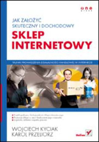 Okładka książki Jak założyć skuteczny i dochodowy sklep internetowy