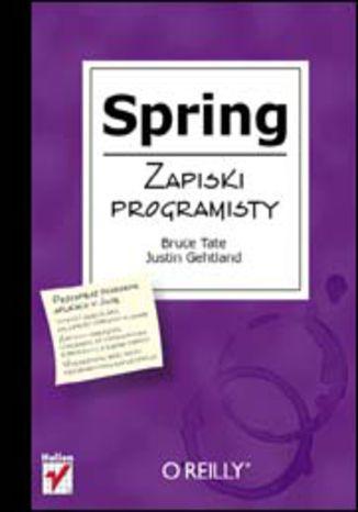 Okładka książki/ebooka Spring. Zapiski programisty