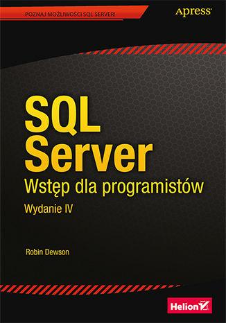 Okładka książki/ebooka SQL Server. Wstęp dla programistów. Wydanie IV