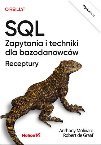 Okładka książki SQL. Zapytania i techniki dla bazodanowców. Receptury. Wydanie II