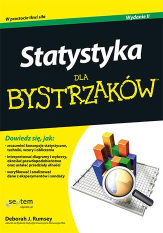 Okładka książki Statystyka dla bystrzaków. Wydanie II