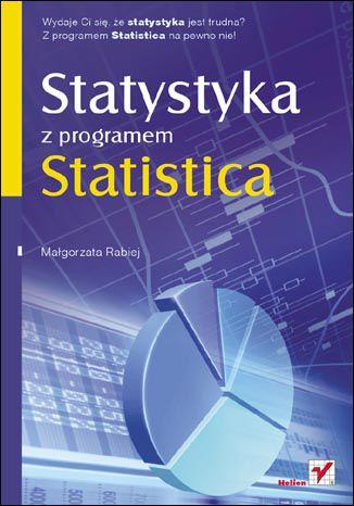 Okładka książki/ebooka Statystyka z programem Statistica