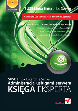 Okładka książki SUSE Linux Enterprise Server. Administracja usługami serwera. Księga eksperta