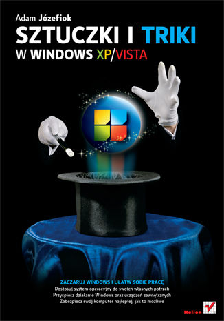 Okładka książki/ebooka Sztuczki i triki w Windows XP/Vista