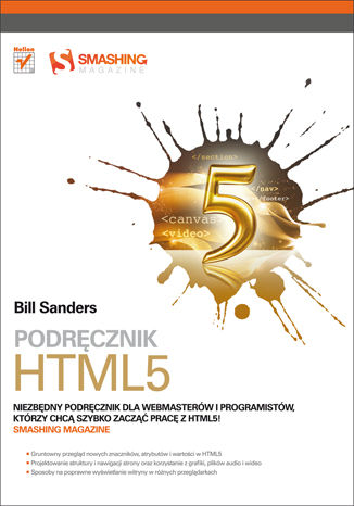 Okładka książki/ebooka Podrecznik HTML5. Smashing Magazine