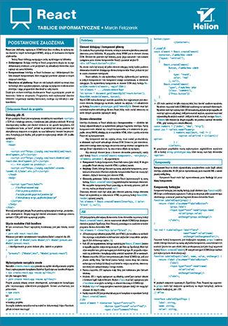 Okładka książki/ebooka Tablice informatyczne. React