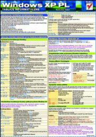 Okładka książki/ebooka Tablice informatyczne. Windows XP PL