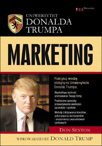 Okładka książki/ebooka Uniwersytet Donalda Trumpa. Marketing