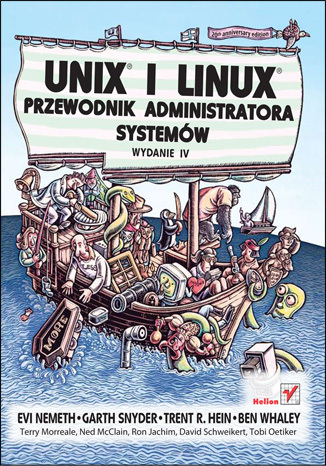 Okładka książki/ebooka Unix i Linux. Przewodnik administratora systemów. Wydanie IV