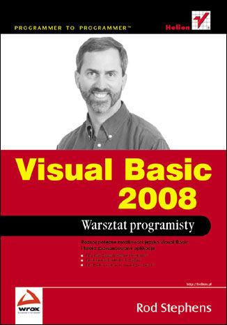 Okładka książki/ebooka Visual Basic 2008. Warsztat programisty