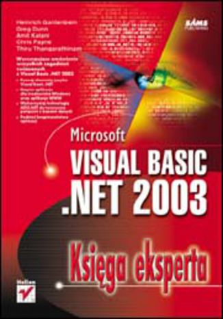 Okładka książki/ebooka Microsoft Visual Basic .NET 2003. Księga eksperta
