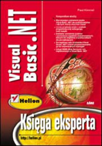 Okładka książki/ebooka Visual Basic .NET. Księga eksperta