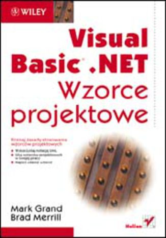 Okładka książki/ebooka Visual Basic .NET. Wzorce projektowe