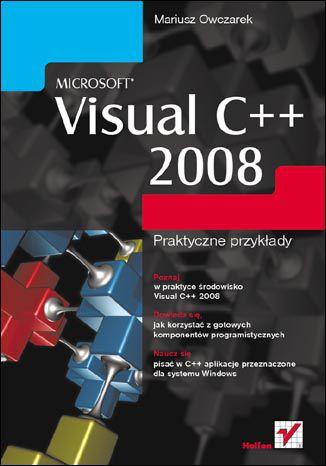 Okładka książki/ebooka Microsoft Visual C++ 2008. Praktyczne przykłady