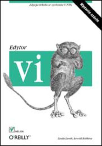 Okładka książki Edytor vi