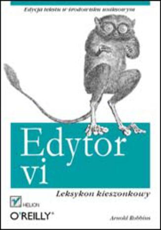 Okładka książki/ebooka Edytor vi. Leksykon kieszonkowy