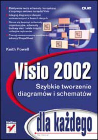 Okładka książki/ebooka Visio 2002 dla każdego