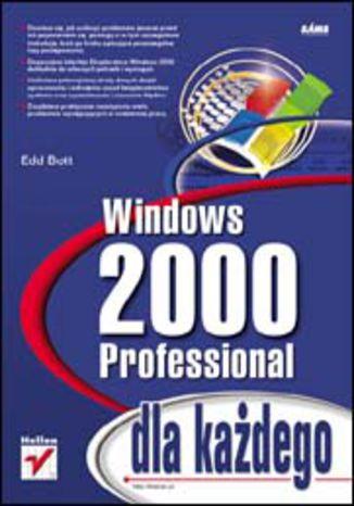 Okładka książki Windows 2000 Professional dla każdego
