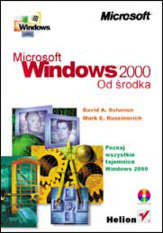 Okładka książki/ebooka MS Windows 2000 od środka