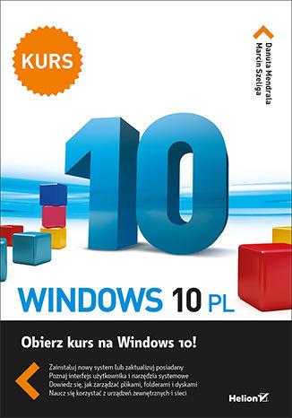 Okładka książki/ebooka Windows 10 PL. Kurs